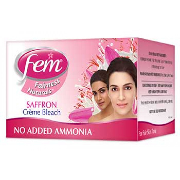 Fem Fairness Saffron 2.25 OZ / 64 Gms