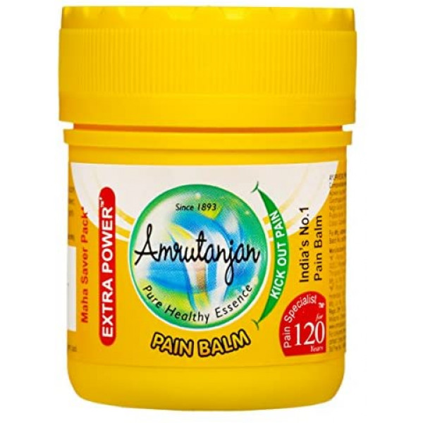 Amrutanjan Pain Rub (Balm) Yellow - 30ml
