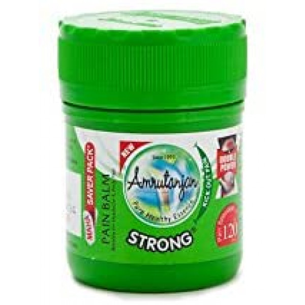 Amrutanjan Strong Pain Rub (Balm) Green - 30ml