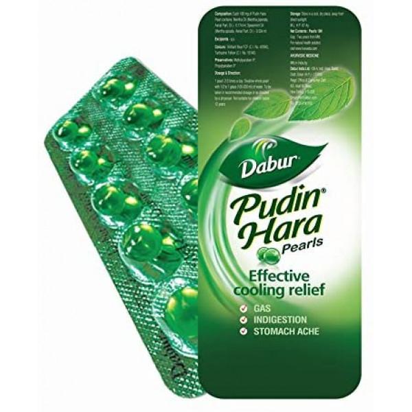 Dabur Pudin Hara Pearls 10 Capsules