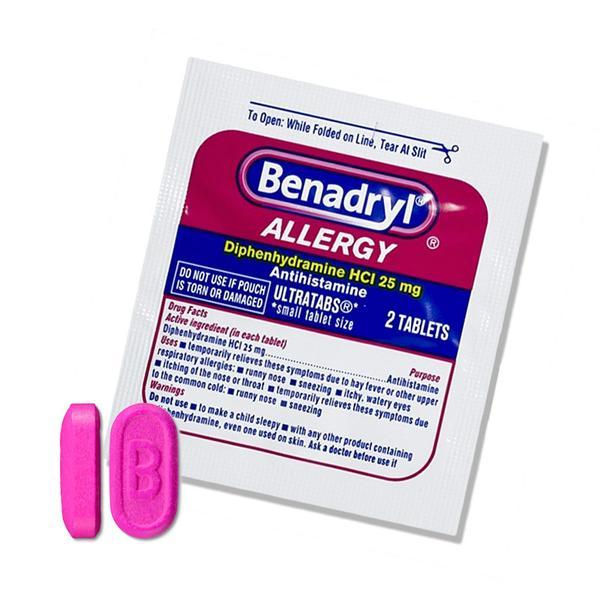 Benadryl Allergy Relief Medicine  (2pk)