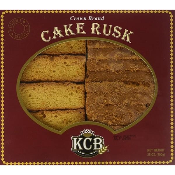 KCB Cake Rusk 25 OZ/652Gms