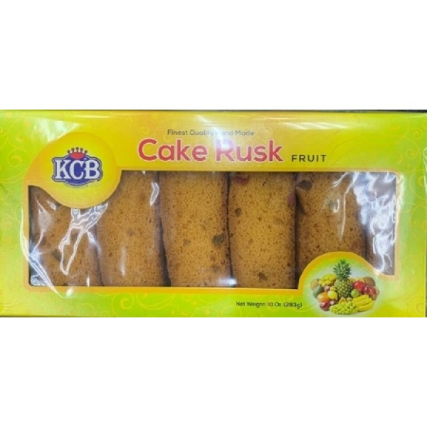 KCB Cake Rusk Fruit  10 OZ/283Gms