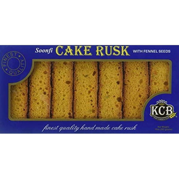 KCB Cake  Rusk with Fennel  seeds 25 Oz / 652Gms