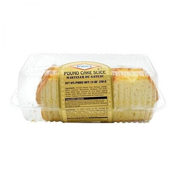 KCB Pound Cake Slice 13 OZ