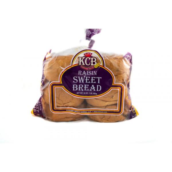 KCB Raisin Sweet Bread 16 Oz / 454 Gms