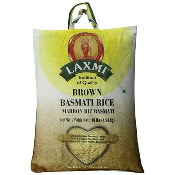 Laxmi Brown Basmati Rice 10lb