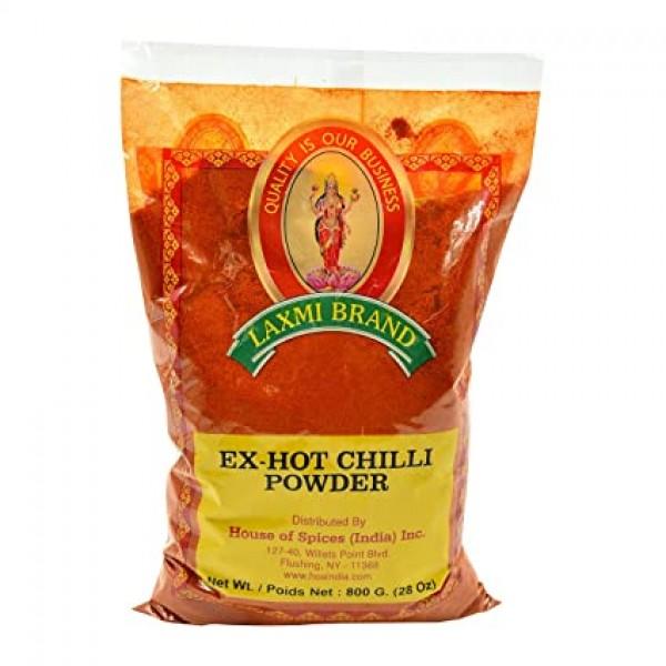 Laxmi Extra Hot Red Chilli Powder 28 Oz / 800 Gms