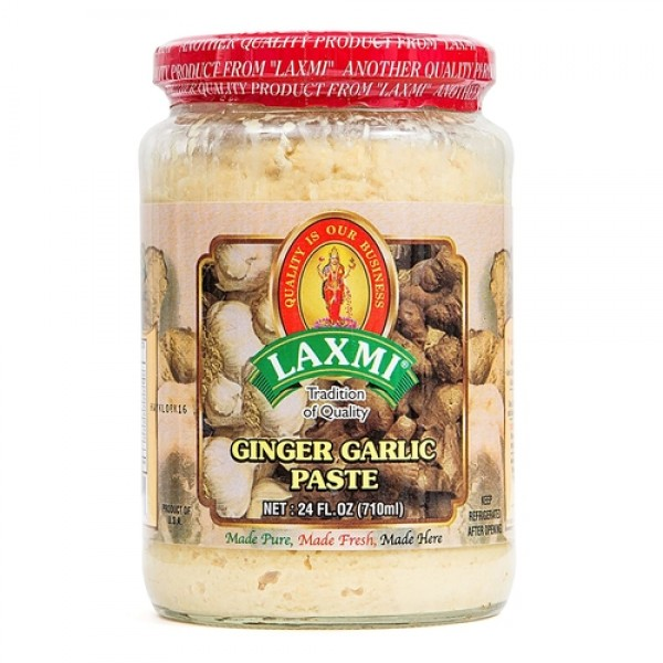 Laxmi Ginger & Garlic Paste 24 Oz / 710 ml