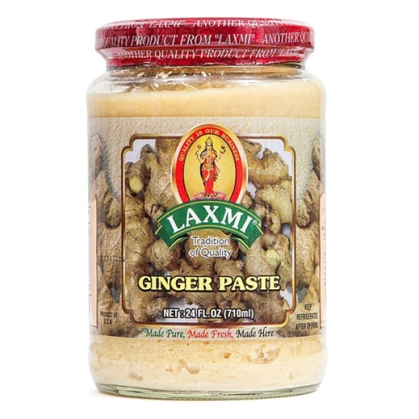 Laxmi Ginger Paste 24 Oz / 710 ml