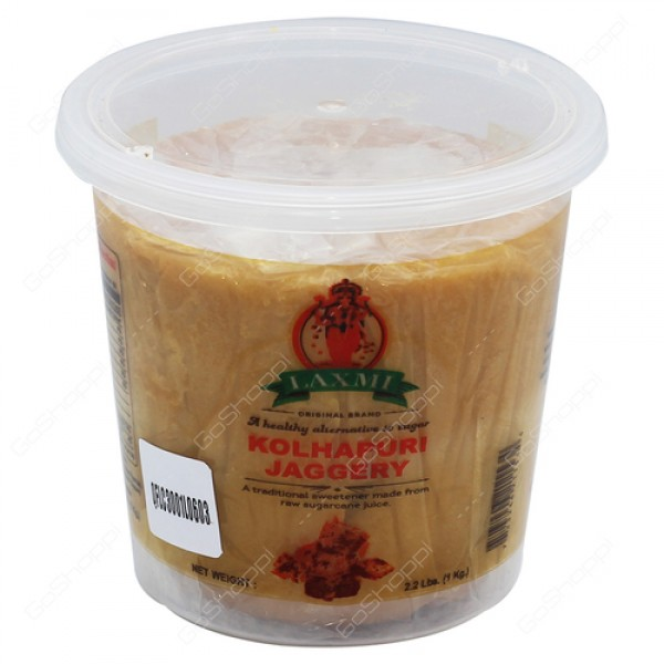 Laxmi Kolhapuri Jaggery 2.2 Lb / 1 Kg