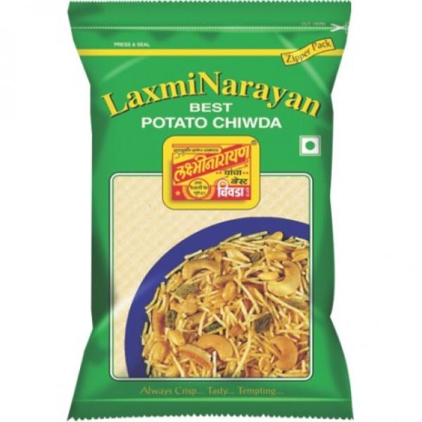 Laxmi Narayan Potato Chiwda 14.1 Oz / 400 Gms
