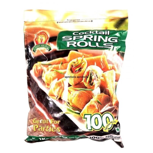 Laxmi Catering Spring Rolls 100 Pieces