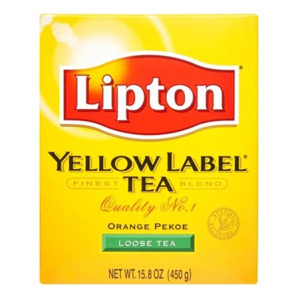 Lipton Yellow Label Loose Tea 15.87 OZ / 450 Gms