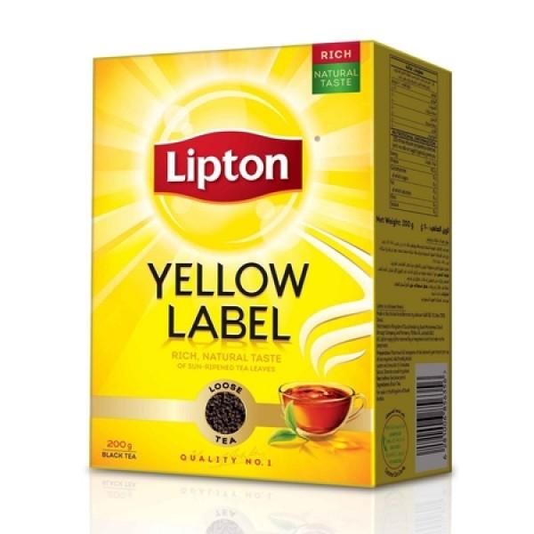 Lipton  Yellow Label Tea Bags 7 OZ / 198 Gms