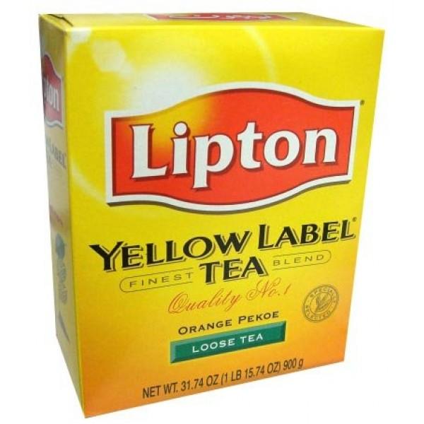 Lipton Yellow Label Tea 31.74 OZ / 900 Gms