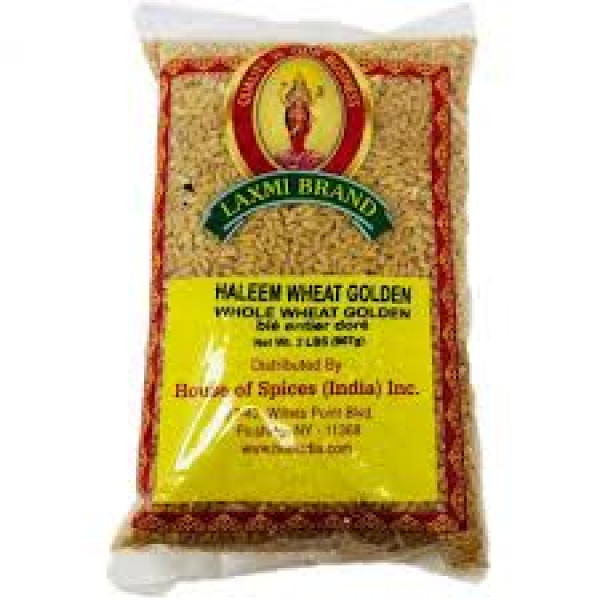 Laxmi  Haleem wheat white (Peeled wheat )2Lbs /907Gms