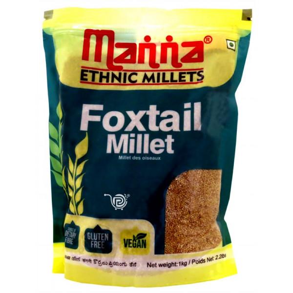 Manna Foxtail Millet 1kg
