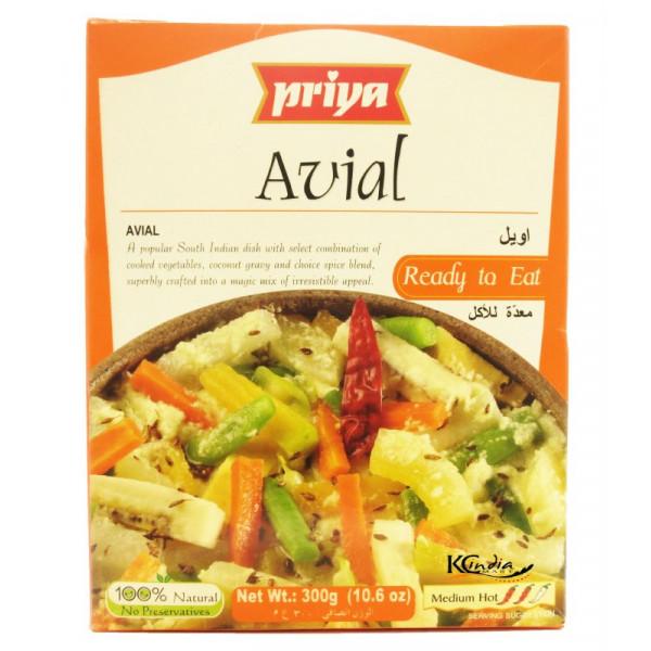 Priya Avial 10.4 Oz / 300 Gms
