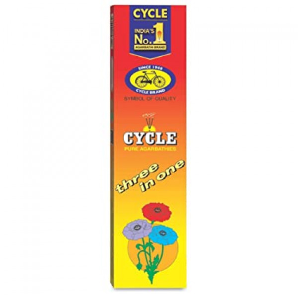 Cycle Three in One Incense Sticks 12 sticks