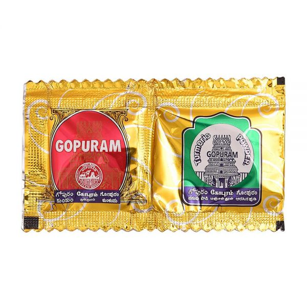 Haldi & Kumkum (Combi Pack) 2Packs