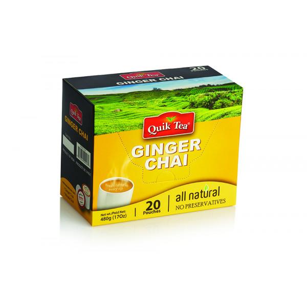 Quick Tea Ginger Chai 17 OZ / 482 Gms