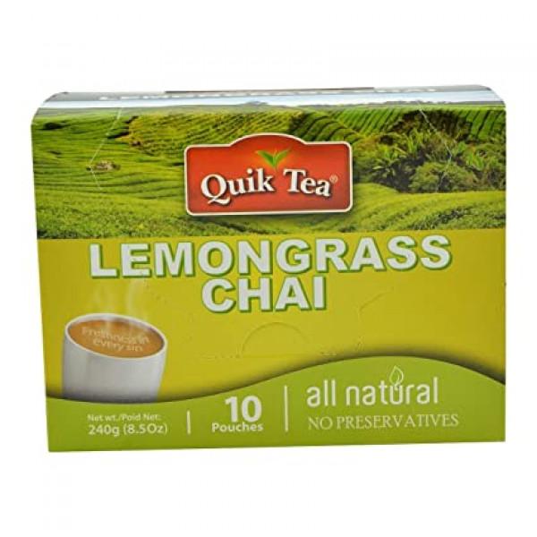 Quick Tea Lemongrass Chai 8.5 OZ / 240 Gms