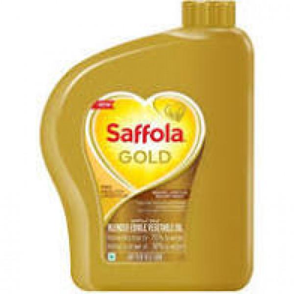 Saffola Gold Vegetable Oil 169 Fl Oz