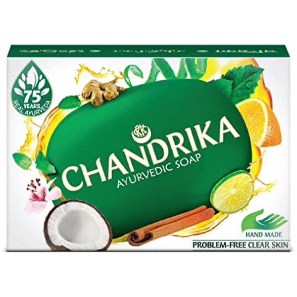 Chandrika Original Soap 2.64 OZ / 75 Gms
