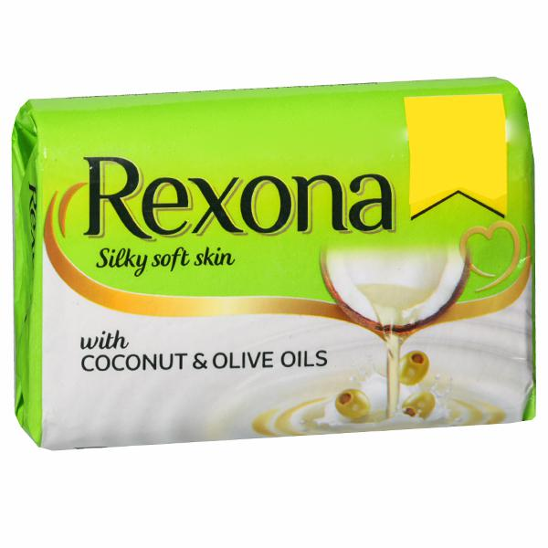 Rexona Soap with Coconut & Olive Oil 3.5 OZ / 100 Gms