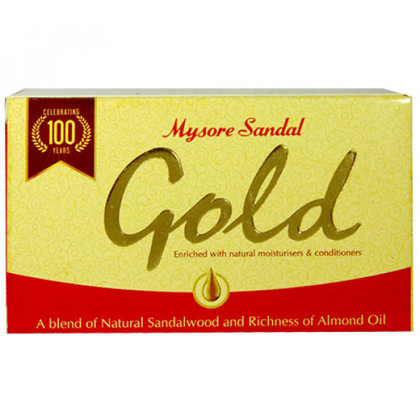 Mysore Sandal Gold Soap 4.41 OZ / 125 Gms