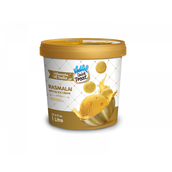 Vadilal Rasmalai Ice Cream 1 L