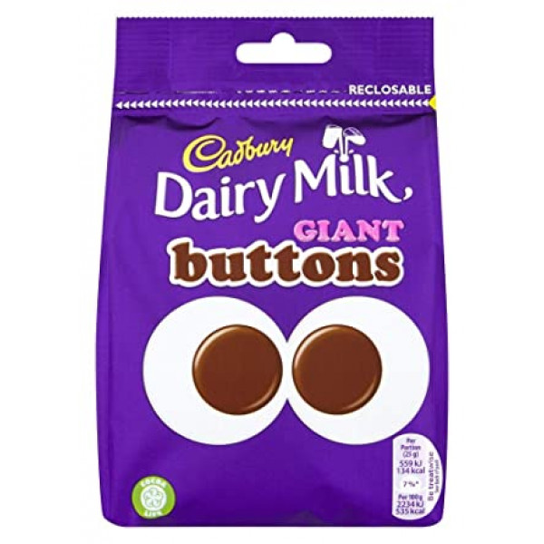 Cadbury Dairy Milk Buttons 30Gms