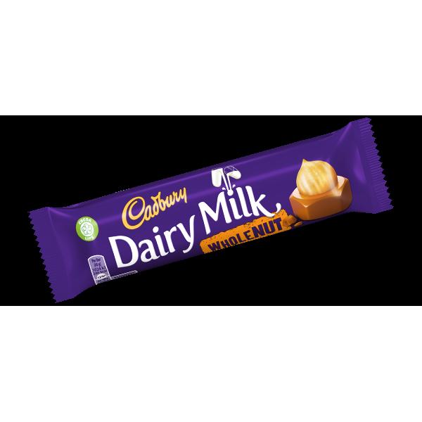 Cadbury Dairy Milk whole Nut 45 Gms