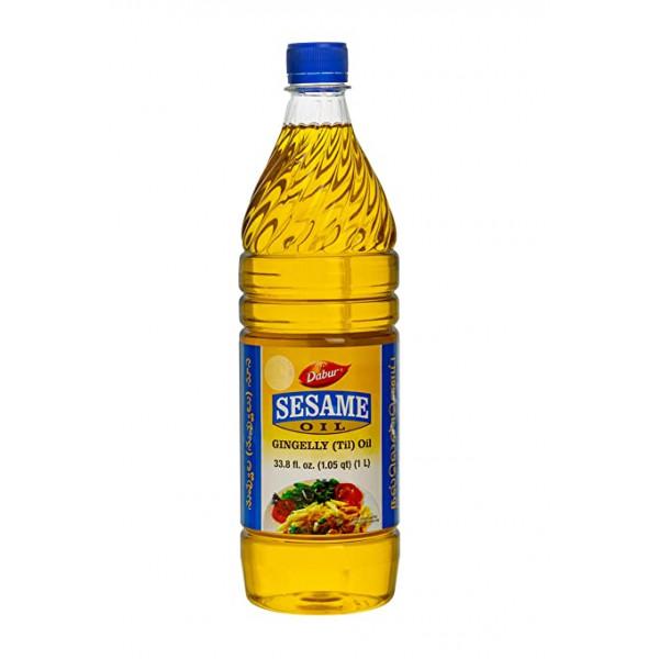 Dabur Sesame Oil 33.8 Fl Oz/1000 Ml