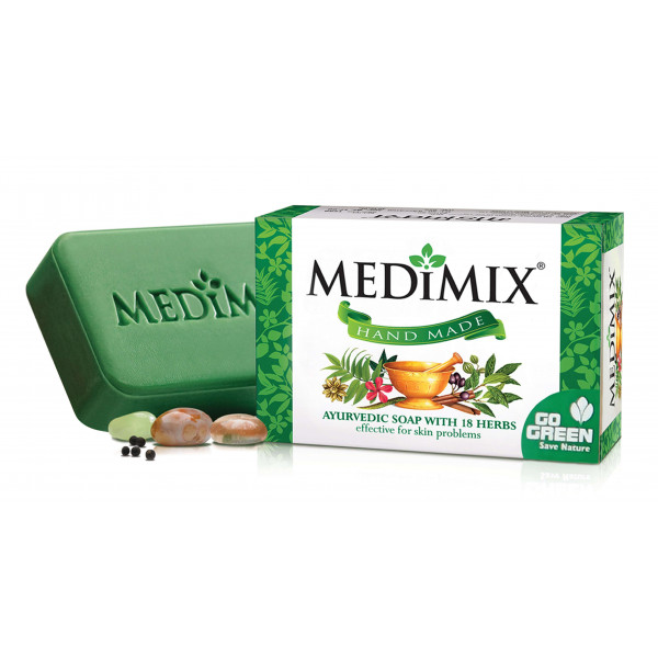 Medimix 18-Herb Ayurveda Soap 125 GM/ 4.4 OZ