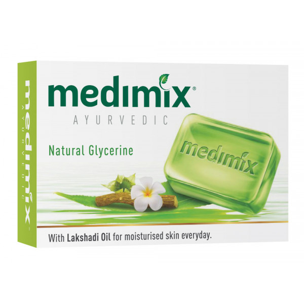 Medimix Natural Glycerine Soap 125 GM/ 4.4 OZ