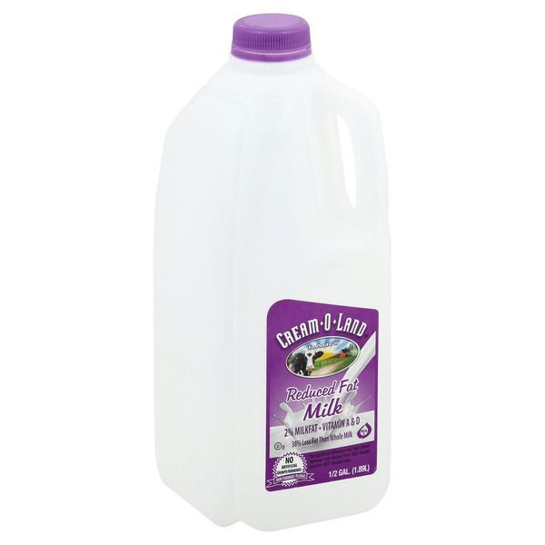 Cream-o-land Milk 2% - 1/2 Gallon