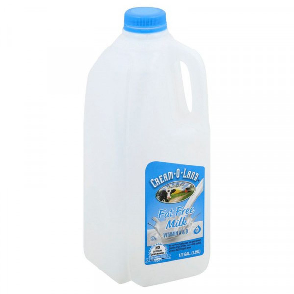 Cream-o-land Milk Skim - 1 Gallon