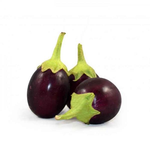 Fresh ROUND EGG PLANT $/Lb