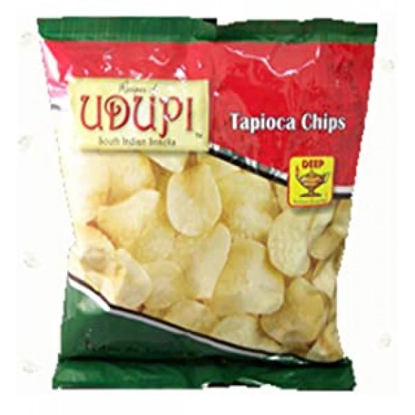 Udupi Tapioca Chips 7 Oz / 200 Gms