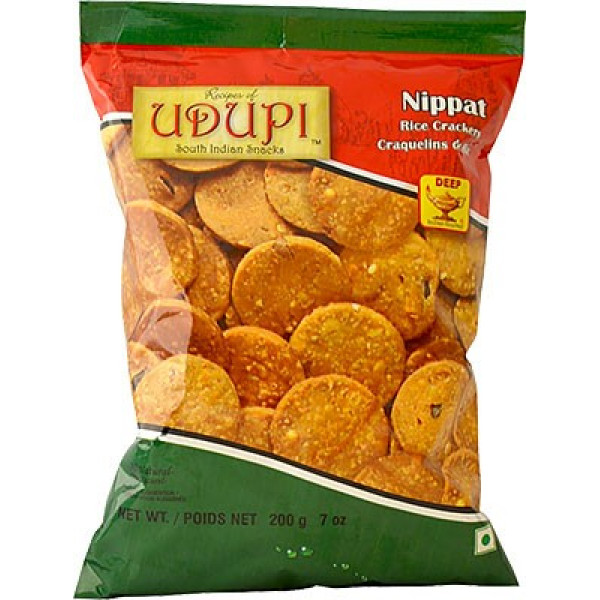 Udupi Nippat Rice Crackers 7 Oz / 200 Gms