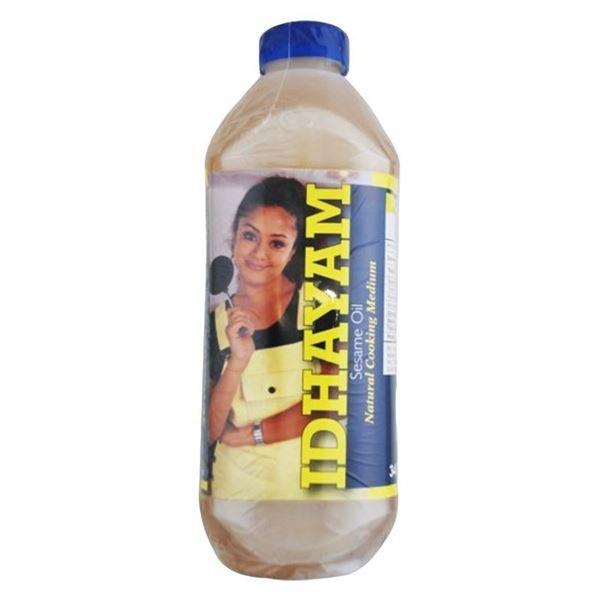 Idhayam Gingelly Oil  68 Fl Oz / 2 L