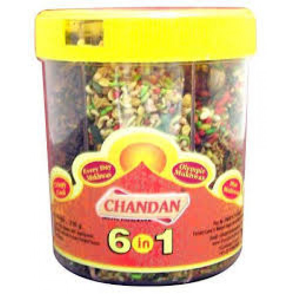 Chandan 6 in 1 mix mouth freshener 8.8 Oz / 249 Gms