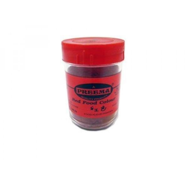 Preema Red Food Colour/color - 25g