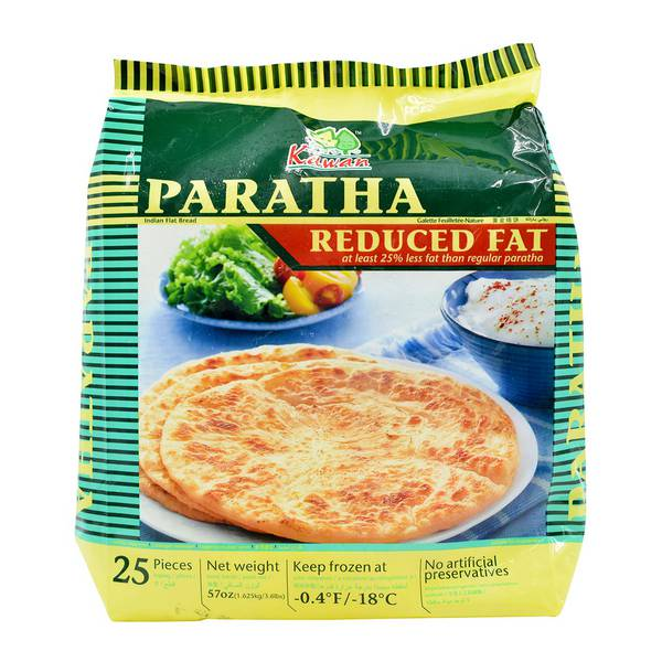 Kawan Reduced Fat Paratha 25 Pieces