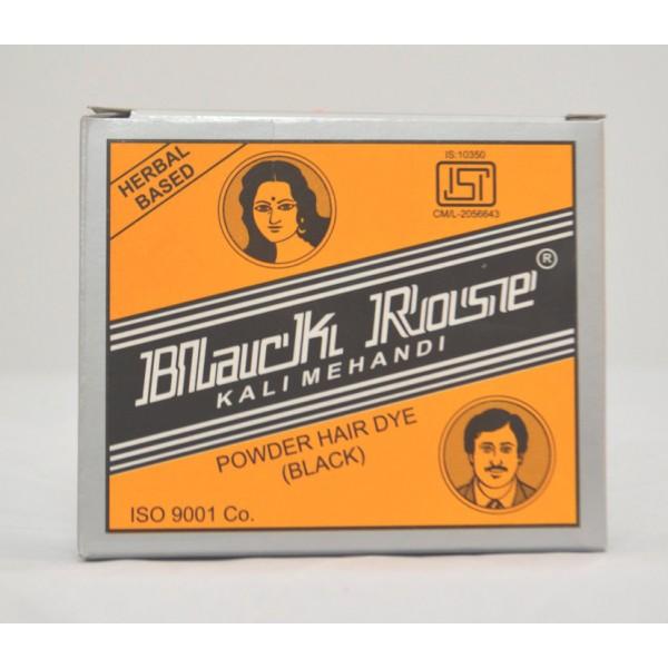 Black Rose Powder Hair Dye 1.76 OZ / 50 Gms