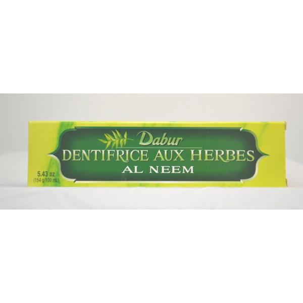 Dabur Dabur Dentifrice Aux Herbs Neem Toothpaste 5.43 OZ / 154 Gms