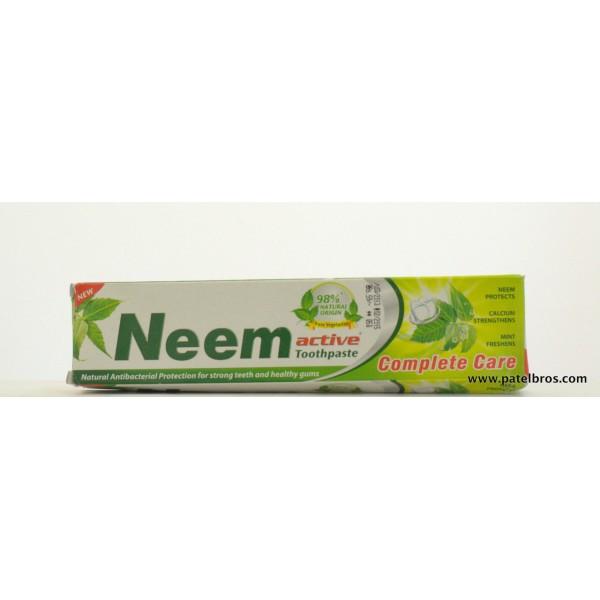 Neem Neem Active Toothpaste 4.4 OZ / 125 Gms