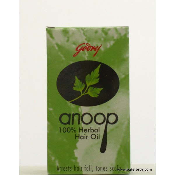 Godrej Anoop Herbal Hair Oil 1.69 OZ / 50 Ml